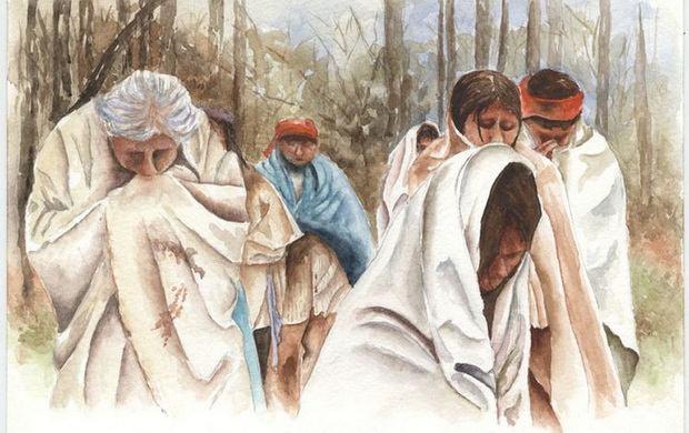 «Дорога слез» — принудительное переселение индейцев © fws.gov