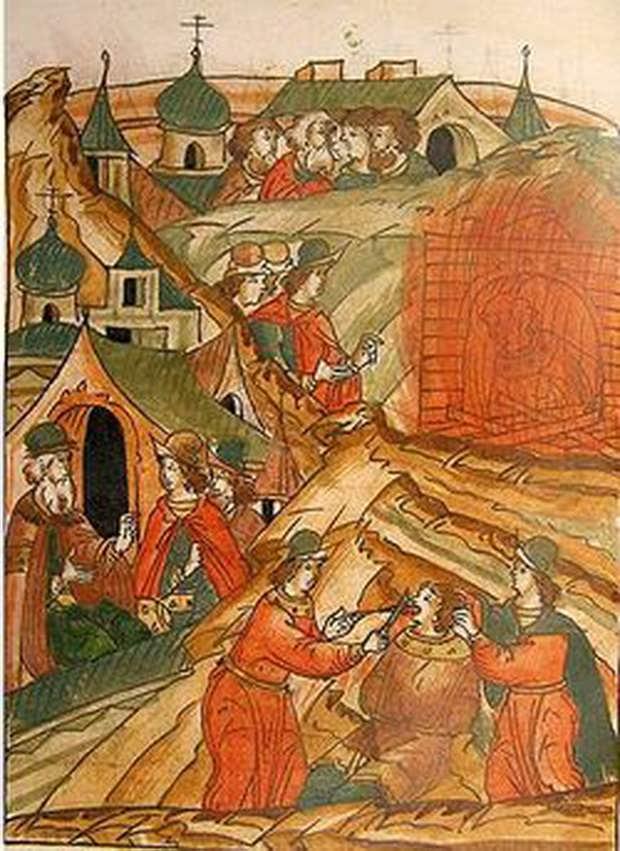 Несмотря на требования церковных властей сжечь его как еретика, отделался заключением и ссылкой.