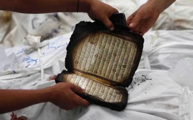 Дания разрешила публично сжигать коран и библию