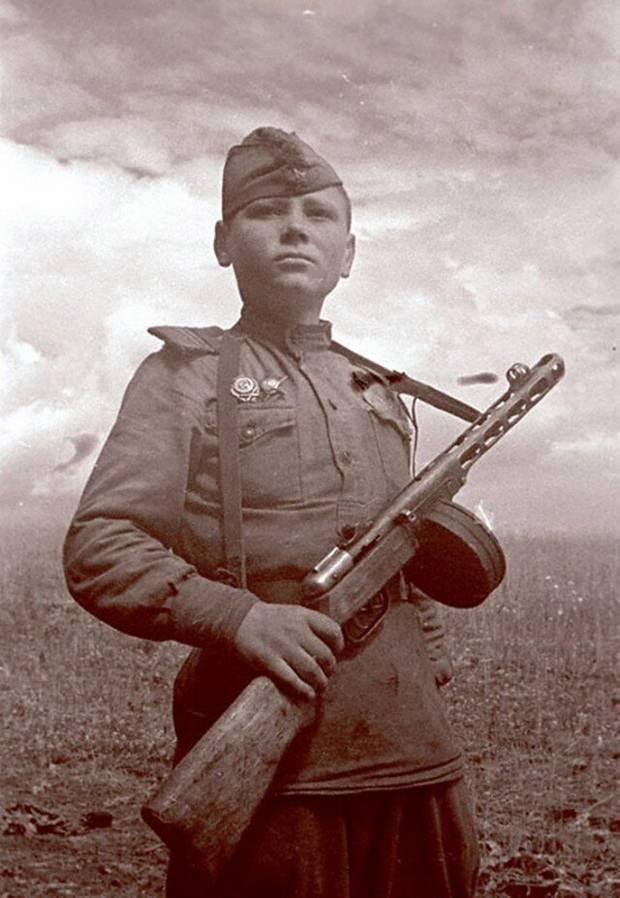 Сын полка. Апрель 1942 года. 1-й Белорусский фронт