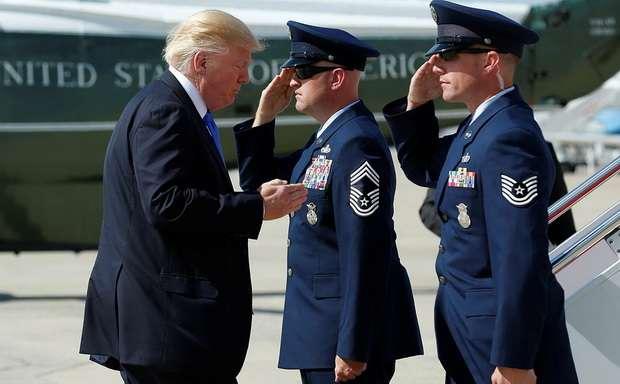 Трамп заявил о готовности США применить военные меры против КНДР