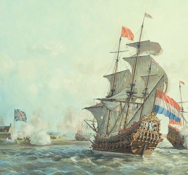 Голландцы были первыми европейцами, которые основали колонию в Южной Африке.