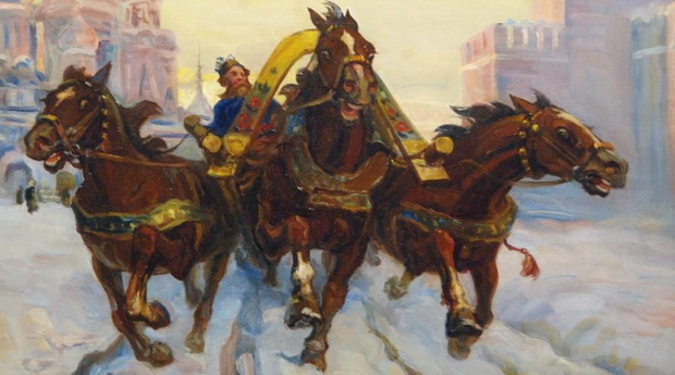 Приехав в Россию в 1839 году, французский маркиз Астольф де Кюстин был шокирован необыкновенной скоростью, с которой неслись русские ямщики