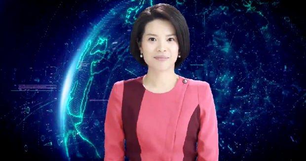 В Китае представили первую в мире женщину-робота с ИИ, которая будет вести программу новостей