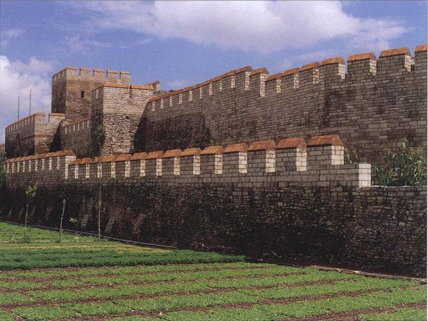 Стены Константинополя. Современное состояние