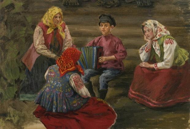 Диджеев не было, зато были гармонисты: популярность по-деревенски