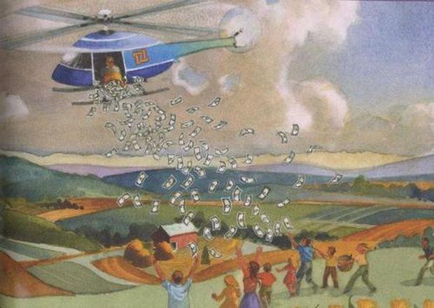 И нынешний руководитель Банка Японии Харухико Курода не раз уже намекал на возможность более широкого применения «вертолетных денег» (хотя использования этого термина он избегает).
