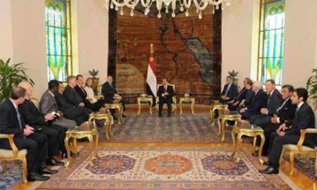 Президент Египта пообещал, что он будет и впредь защищать христиан, живущих в его стране.