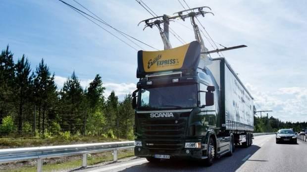 Германия тестирует электрическую автомагистраль