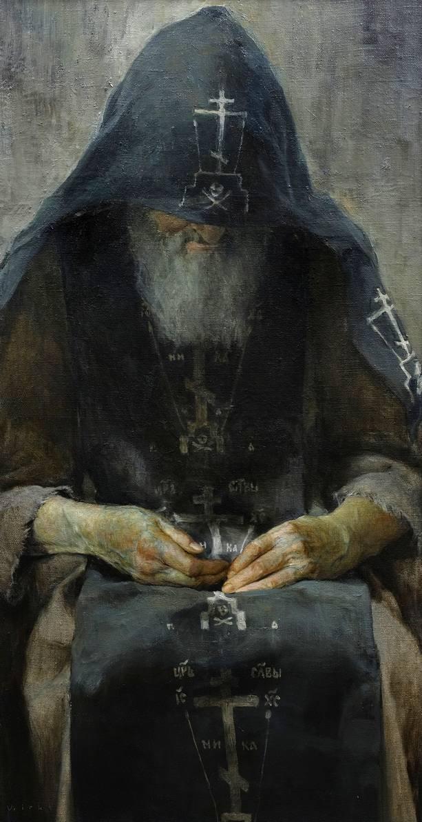 СХИМНИК- художник,живописец КИРИЛЛОВ ВЛАДИМИР