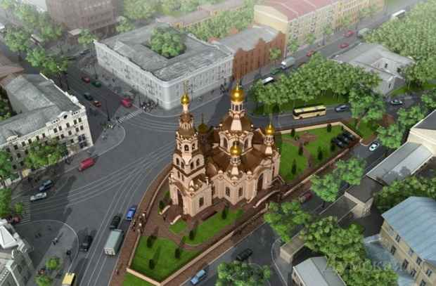 Злоумышленники под Одессой подожгли храм Украинской православной церкви Московского патриархата