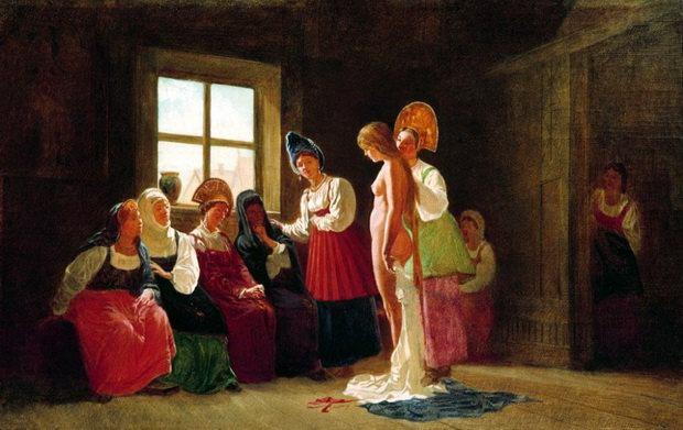 Обычай царских смотрин на Руси существовал совсем недолго